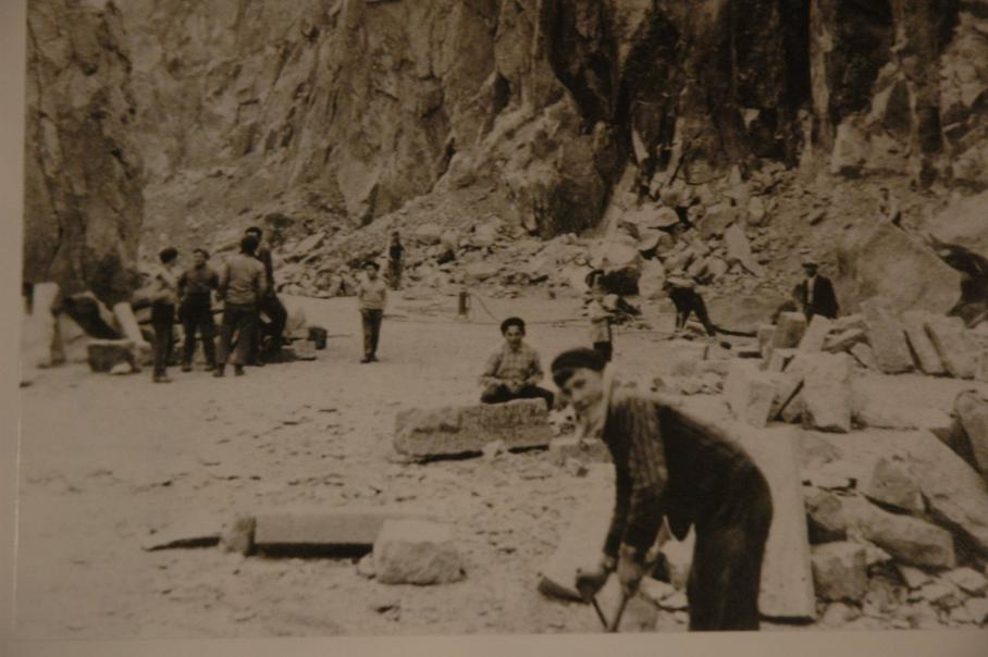 foto storica cave