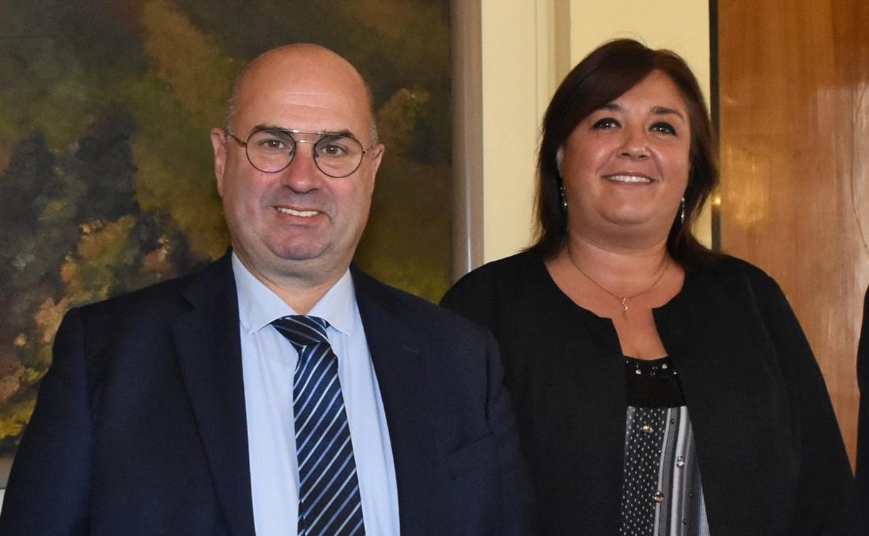 Fabio Bui e Sabrina Doni