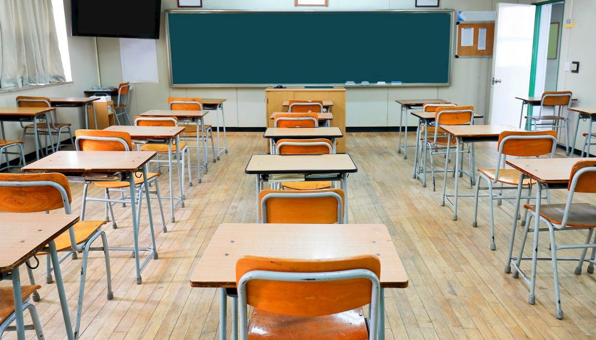 immagine aula scolastica