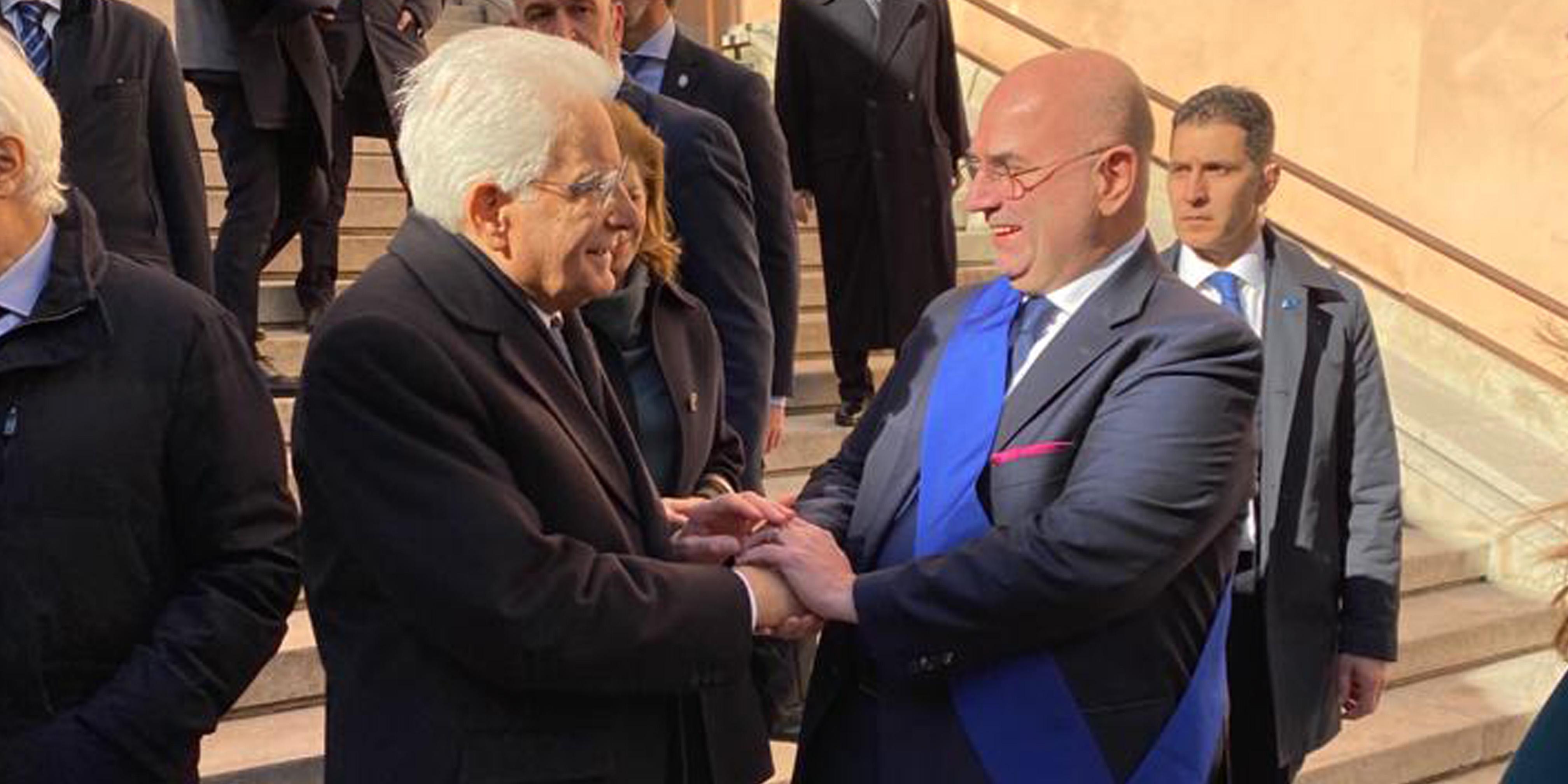presidente provincia di padova e presidente della repubblica