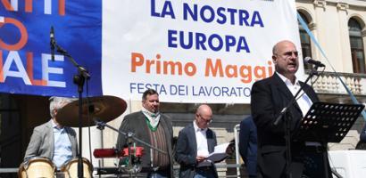 1 maggio: la festa in Piazza dei Signori a Padova
