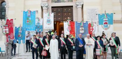Il presidente Fabio Bui ai Santuari Antoniani di Camposampiero per la Festa di Sant'Antonio