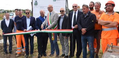 Al via a Sant'Elena il cantiere da 1,3 mln di euro sulla sp 42
