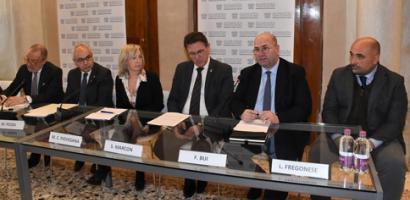 Capannoni on/off: firmato il Protocollo tra Assindustria Venetocentro, Province e Camere di Commercio