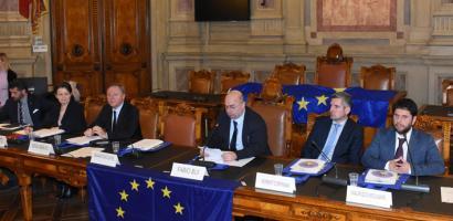 Parlamentari Europei del Nord Est a Palazzo Santo Stefano