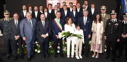 La presidente del Senato Casellati alla 100 Fiera Campionaria di Padova