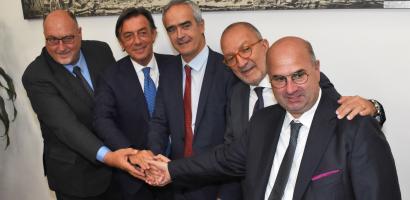 Firmato il protocollo d'intesa per l'Hub dell'Innovazione in Fiera a Padova