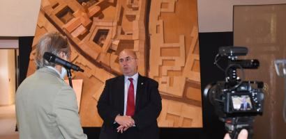 Intervista del presidente della Provincia di Padova Fabio Bui al Musme