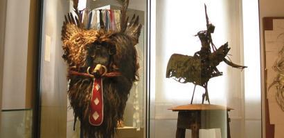 foto interno museo della maschera sartori