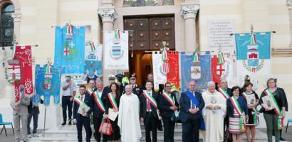 Il presidente Fabio Bui ai Santuari Antoniani di Camposampiero per la Festa di Sant Antonio