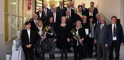 Sigillo della Provincia a 17 nuovi Maestri del Lavoro