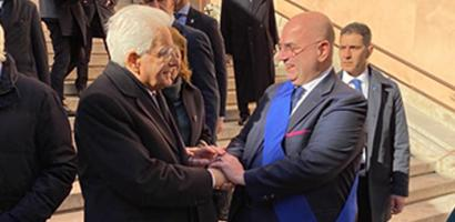 Il presidente Mattarella consacra Padova capitale europea del volontariato